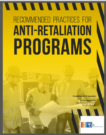 Anti Retaliation Best Practices key elements for a cohesive program