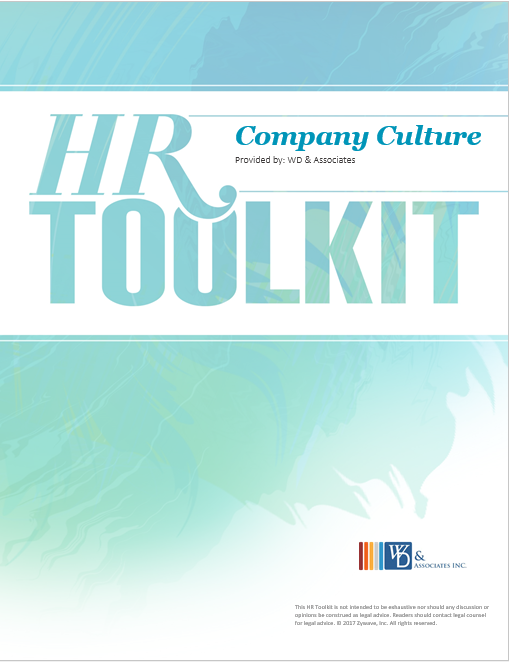 HR Toolkit Company Culture