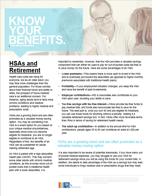 HSAs and retirement