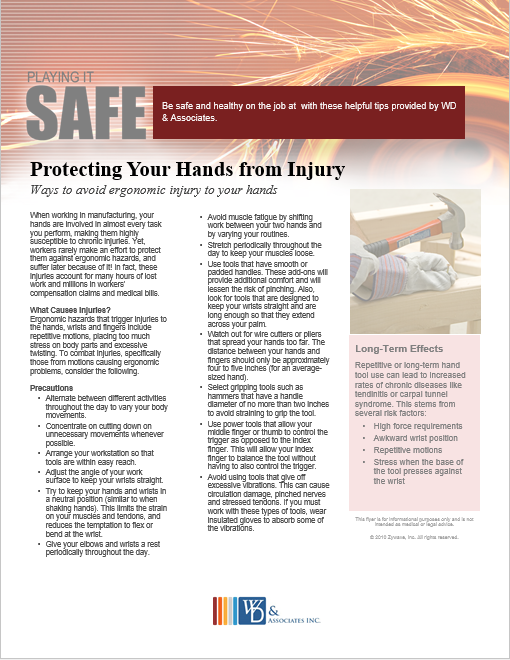 protect your hands safety guide