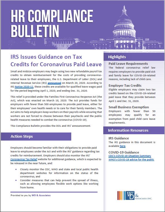 IRS Guidance on Stimulus