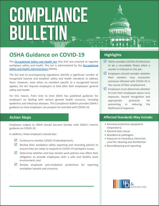 OSHA Coronavirus 2