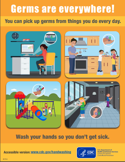 germs are everywhere