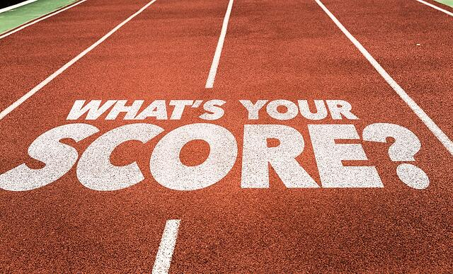 Whats Your Score? written on running track.jpeg