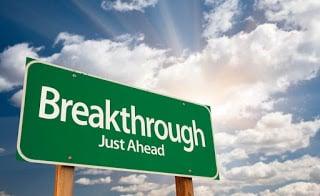 breakthrough ahead